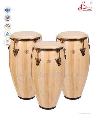 Solidwood Conga Drum Set/Tumbadora (ACOG100NW)