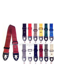 Fine Colorful Cotton Poly Guitar belt/Straps (SCP102S)