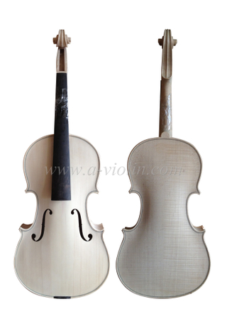 hot sale unfinished white professional viola (L100W)